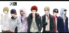 K Anime Logo Homra clan k a